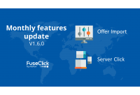 Monthly Features Update v1.6.0: Server click, Data migration and More