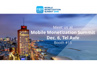 Meet us at Mobile Monetization Summit on Dec. 6