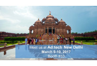 Meet us at Ad:tech New Delhi 2017