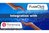 FuseClick integrates with ForensiQ for Fraud Detection