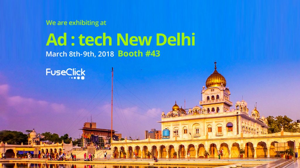 Meet Us at Ad:tech 2018 - India!