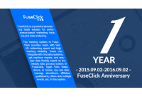 The First Anniversary of FuseClick