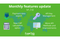Monthly Features Update Release v1.7.0