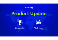 Product update: Click log and New API Methods