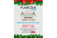 FuseClick wishes you a merry X'mas and Happy new year!
